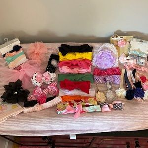 Other - 💖40+ Infant/ Baby Girl Headbands & Accessories